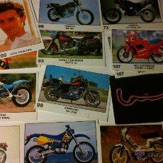 Coleccionismo Cromos antiguos: SET 15 CROMOS PANINI SOLO MOTO 1990. Lote 45730463