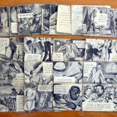 Coleccionismo Cromos antiguos: FRANKENSTEIN Y EL HOMBRE LOBO - FHER 1946 - LOTE DE 36 CROMOS, SUELTOS A 3 EUROS, VER RELACIÓN. Lote 46164033