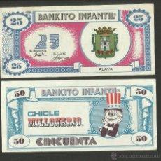Coleccionismo Cromos antiguos: BANKITO INFANTIL - CHICLE MILLONARIO - COL. COMPLETA ? 92 CROMOS DIFERENTES- (CR- 733). Lote 46487222