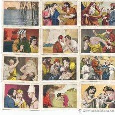 Coleccionismo Cromos antiguos: HISTORIA SAGRADA 43 CROMOS - TAMBIEN SUELTOS. Lote 46842684