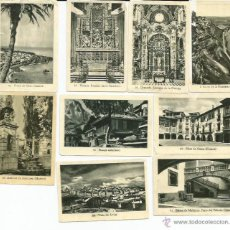 Coleccionismo Cromos antiguos: MONUMENTOS Y BELLEZAS DE ESPAÑA 44 CROMOS - TAMBIEN SUELTOS. Lote 46843310