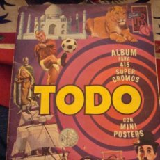 Coleccionismo Cromos antiguos: CROMO CROMOS ALBUM TODO BRUGUERA. LEER.. Lote 72365549