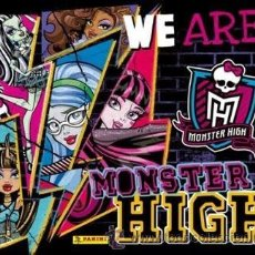 Coleccionismo Cromos antiguos: LOTE DE CROMOS MONSTER HIGH WE ARE. Lote 47464961