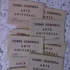 Coleccionismo Cromos antiguos: LOTE 50 SOBRES SORPRESA COLECCIÓN CROMOS DE ARTE UNIVERSAL AÑOS '70 - CEDIPSA. Lote 218768741