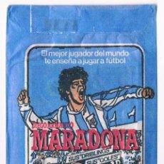 Coleccionismo Cromos antiguos: SOBRE CROMOS ANTIGUO MARADONA CERRADO SIN ABRIR FUTBOL LIGA 84 85 CROMOESPORT CROMO. Lote 47475700