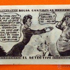Coleccionismo Cromos antiguos: CROMO - BOLSA CANTINFLAS, EL DETECTIVE Nº 4 - EDITORIAL SENDA 1946 - CROMOS -. Lote 47687790