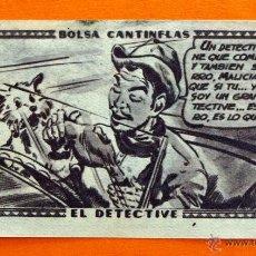 Coleccionismo Cromos antiguos: CROMO - BOLSA CANTINFLAS, EL DETECTIVE Nº 13 - EDITORIAL SENDA 1946 - CROMOS -. Lote 47687848
