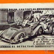 Coleccionismo Cromos antiguos: CROMO - BOLSA CANTINFLAS, EL DETECTIVE Nº 14 - EDITORIAL SENDA 1946 - CROMOS -. Lote 47687859