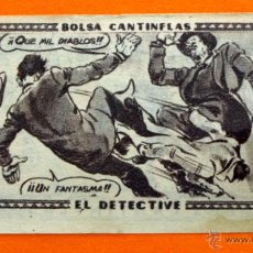 Coleccionismo Cromos antiguos: CROMO - BOLSA CANTINFLAS, EL DETECTIVE Nº 22 - EDITORIAL SENDA 1946 - CROMOS -. Lote 47687918