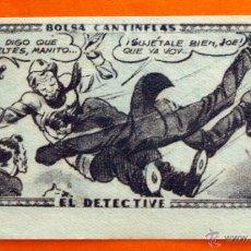 Coleccionismo Cromos antiguos: CROMO - BOLSA CANTINFLAS, EL DETECTIVE Nº 73 - EDITORIAL SENDA 1946 - CROMOS -. Lote 47688221