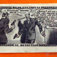 Coleccionismo Cromos antiguos: CROMO - BOLSA CANTINFLAS, EL DETECTIVE Nº 88 - EDITORIAL SENDA 1946 - CROMOS -. Lote 47688429