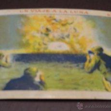 Coleccionismo Cromos antiguos: UN VIAJE A LA LUNA - N. 3 - CHOCOLATES SULTANA - NUEVO - ORIGINAL - NUNCA PEGADO. Lote 194749403