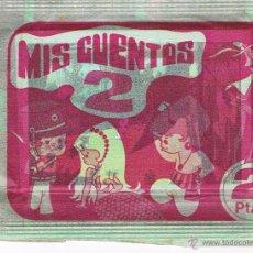 Coleccionismo Cromos antiguos: SOBRE CROMOS ANTIGUO MIS CUENTOS 2 SIN ABRIR RUIZ ROMERO CERRADO CROMO. Lote 47820041