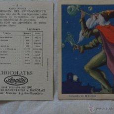 Coleccionismo Cromos antiguos: CROMOS MAGIA CHOCOLATES AMATLLER PREGUNTA TUS FALTAS . Lote 48001686