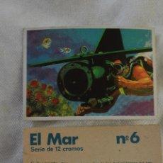 Coleccionismo Cromos antiguos: CROMOS DUNKIN EL MAR PREGUNTA TUS FALTAS. Lote 48002044
