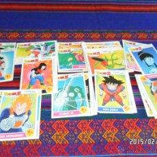 Coleccionismo Cromos antiguos: DRAGON BALL Z COMBAT CARDS LOTE DE 146 NºS. PANINI. BOLA DE DRAGÓN. LOTE AMPLIADO 24-11-17. SUELTOS.. Lote 48112865
