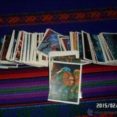 Coleccionismo Cromos antiguos: TORTUGAS NINJA DE PANINI 1990 LOTE DE 267 CROMOS CROMO NUEVOS. TAMBIÉN SUELTOS.. Lote 48113974