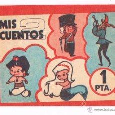 Coleccionismo Cromos antiguos: SOBRE CROMOS MIS CUENTOS 2 SIN ABRIR RUIZ ROMERO 1973 CERRADO ANTIGUO CROMO. Lote 48159868