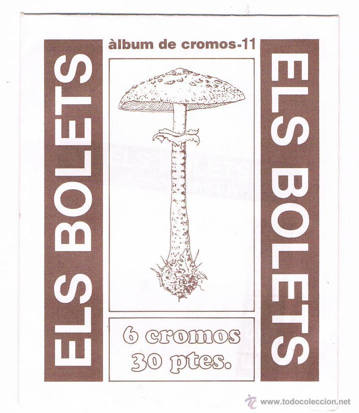 SOBRE CROMOS ANTIGUO ELS BOLETS SIN ABRIR CERRADO CROMO (Coleccionismo - Cromos y Álbumes - Cromos Antiguos)