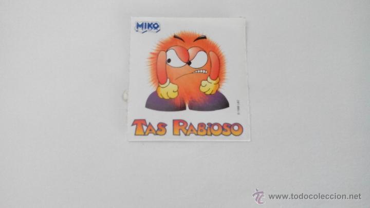 TAS RABIOSO - MIKO - 1998 (Coleccionismo - Cromos y Álbumes - Cromos Antiguos)