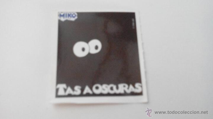TAS A OSCURAS - MIKO - 1998 (Coleccionismo - Cromos y Álbumes - Cromos Antiguos)