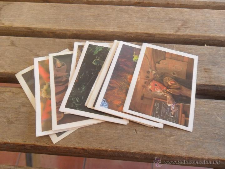 LOTE DE 10 CROMOS LOS AURONES MULTILIBRO SIN PEGAR (Coleccionismo - Cromos y Álbumes - Cromos Antiguos)