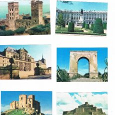 Coleccionismo Cromos antiguos: LOTE 11 CROMOS CALIDOSCOPIO VITA 2 ARTE MONUMENTAL NUNCA PEGADOS LABORATORIOS VITA CROMO. Lote 49369737