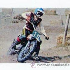 Coleccionismo Cromos antiguos: PHOSKITOS DE PHOSCAO ANTIGUO CROMO SERIE MOTOS Nº 9 SIN PEGAR. Lote 49372885