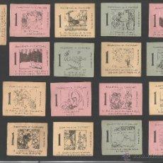 Coleccionismo Cromos antiguos: 17 CROMOS ASSISTÈNCIA AL CATECISME - ILUSTRADOS POR JUNCEDA - 5,7 X 4,5 CM CADA CROMO. Lote 49671724