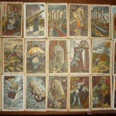 Coleccionismo Cromos antiguos: 50 CROMOS UN VIAJE A LA LUNA DE JULES (JULIO) VERNE.CHOCOLATES JAIME BOIX CIRCA 1900. COMPLETA.. Lote 49887056