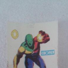 Coleccionismo Cromos antiguos: CROPAN CROMO PLASTICO ALBUM SUPER HEROES MARVEL NUMERO 54 DOCTOR ESPECTRO SERIE CAPA PROTECTORA. Lote 49969879