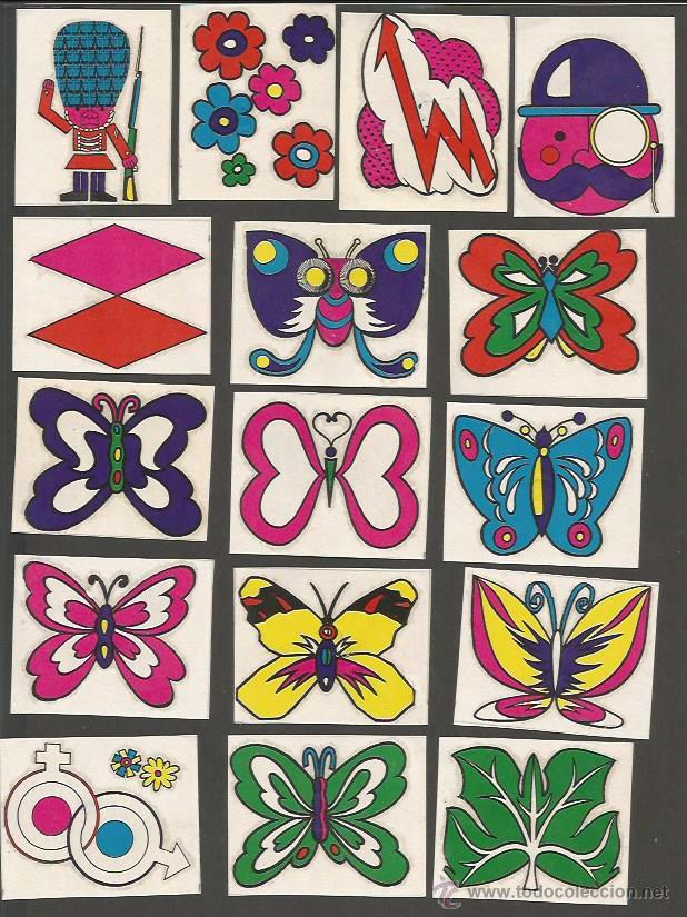 Coleccionismo Cromos antiguos: CALCOMANIAS - CHUPA CHUPS - COL. COMPLETA 48 CROMOS - (CR-869) - Foto 4 - 50713755