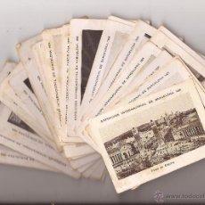 Coleccionismo Cromos antiguos: 36 CROMOS EXPOSICIÓN INTERNACIONAL DE BARCELONA 1929 / CHOCOLATES EDUARDO PI. Lote 50785241