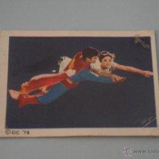 Coleccionismo Cromos antiguos: CROMO DE:SUPERMAN I,(DESPEGADO),Nº124,AÑO 1979,DEL ALBUM,SUPERMAN I,DE FHER. Lote 179334296