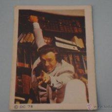Coleccionismo Cromos antiguos: CROMO DE:SUPERMAN I,(DESPEGADO),Nº129,AÑO 1979,DEL ALBUM,SUPERMAN I,DE FHER. Lote 179334366