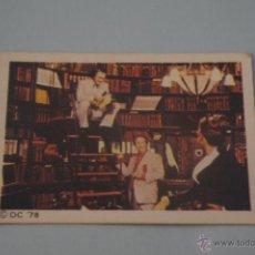 Coleccionismo Cromos antiguos: CROMO DE:SUPERMAN I,(DESPEGADO),Nº130,AÑO 1979,DEL ALBUM,SUPERMAN I,DE FHER. Lote 179335275