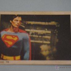 Coleccionismo Cromos antiguos: CROMO DE:SUPERMAN I,(DESPEGADO),Nº149,AÑO 1979,DEL ALBUM,SUPERMAN I,DE FHER. Lote 179334453