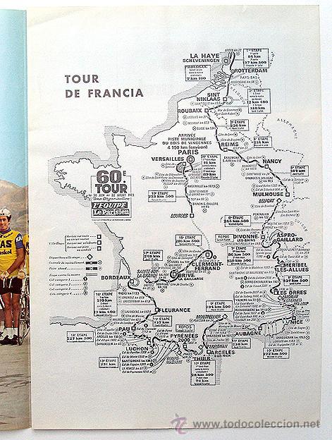 Coleccionismo Cromos antiguos: Ciclismo 1973 Cartel Poster KAS. Galdos, Fuente, Aja, Perurena, Lopez Carril, Lasa, Linares - Foto 2 - 50915547