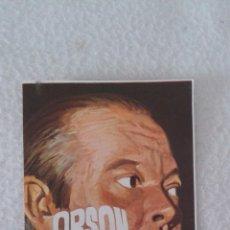 Coleccionismo Cromos antiguos: ALBUM TODO BRUGUERA CROMO MINI POSTER ORSON WELLES. Lote 51389697