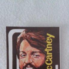 Coleccionismo Cromos antiguos: ALBUM TODO BRUGUERA CROMO MINI POSTER BEATTLE PAUL MCCARTNEY. Lote 51389767