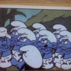 Coleccionismo Cromos antiguos: CROMOS - CROMO - PITUFOS - PITUFO - COLECCION FIGURINE PANINI AÑO 1982 - Nº 23. Lote 51585283