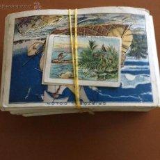 Coleccionismo Cromos antiguos: CRISTOBAL COLON CHOCOLATES JUNCOSA 100 CROMOS SE VENDEN SUELTOS. Lote 51598762