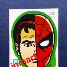Coleccionismo Cromos antiguos: CROMO CROPAN SPIDERMAN BATMAN Y LOS SUPER HÉROES SUPERHEROES Nº 40 PETER PARKER 1979 / 80 AÑOS 70 80. Lote 51634458