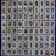 Coleccionismo Cromos antiguos: COLECCION COMPLETA. 80 CROMOS DE CAJAS DE CERILLAS.MUSEO NACIONAL.SERIE B.AÑOS 20.FOSFORERA ESPAÑOLA. Lote 51772475