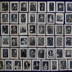 Coleccionismo Cromos antiguos: 73 CROMOS- FOTOTIPIAS DE CAJAS DE CERILLAS. MUSEO NACIONAL. SERIE B. AÑOS 20. FOSFORERA ESPAÑOLA. Lote 51772591