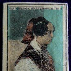 Coleccionismo Cromos antiguos: ANTIGUO CROMO DE ROBLEDA (SALANCA) Nº 22. ESPAÑA.TRAJES REGIONALES.SERIE 7.CAJAS DE CERILLAS.AÑOS 30. Lote 51774522