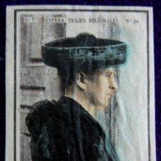 Coleccionismo Cromos antiguos: ANTIGUO CROMO CANDELARIO (SALAMANCA) 24. ESPAÑA.TRAJES REGIONALES.SERIE 7.CAJAS DE CERILLAS.AÑOS 30. Lote 51774545