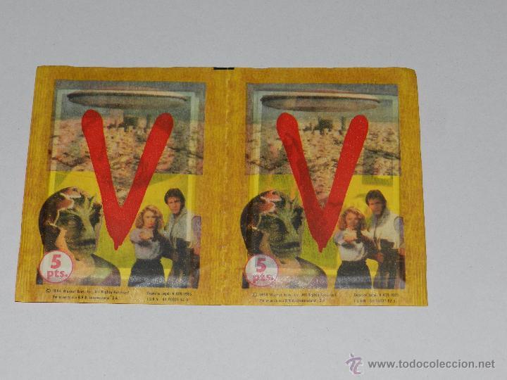 V - EL ALBUM DE MAGA , 2 SOBRES ( SOBRE ) SIN ABRIR DE LA COLECCION DE ALBUM V - 1984, IMPECABLE (Coleccionismo - Cromos y Álbumes - Cromos Antiguos)