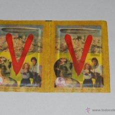 Coleccionismo Cromos antiguos: V - EL ALBUM DE MAGA , 2 SOBRES ( SOBRE ) SIN ABRIR DE LA COLECCION DE ALBUM V - 1984, IMPECABLE . Lote 58418808