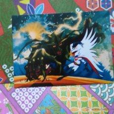 Coleccionismo Cromos antiguos: 6 GATCHAMAN COMANDO G LA BATALLA DE LOS PLANETAS AMADA YAMAKATSU MINI CARD 1972. Lote 52363149